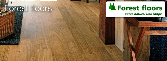 Forest - value natural oak floors