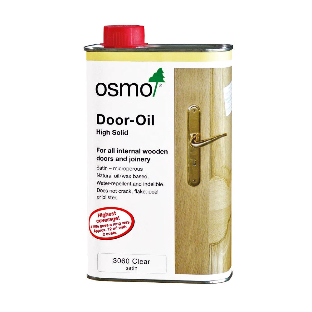 osmo door oil 1000ml clear satin. Black Bedroom Furniture Sets. Home Design Ideas