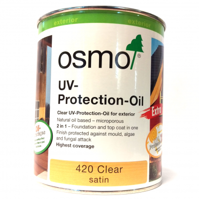 Osmo UV Protection Oil 750ml (Clear Satin)