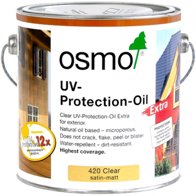 Osmo UV Protection Oil 2500ml (Clear Satin-Matt)