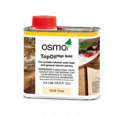 Osmo Top Oil For Worktops 500ml (Clear)