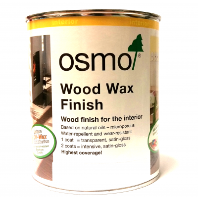 Osmo Oak Wood Wax 750ml (Walnut)