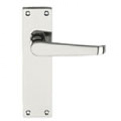 The Victoria Lever Latch Set Long Plate